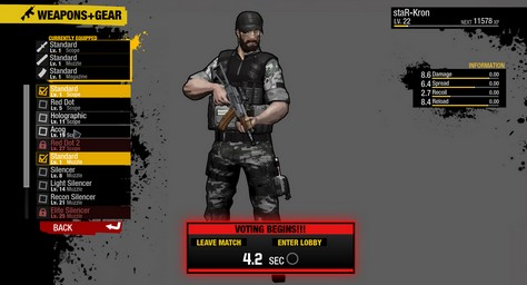 pc special forces team x screenshot equipment s
