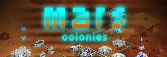 web mars colonies banner