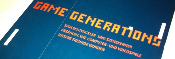 game generations buch banner